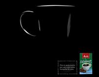 Anúncio café descafeinado Melitta