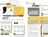 Newsletter layouts : Typographic Hierarchy