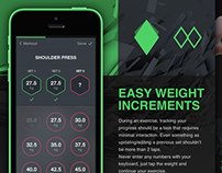 Fitness/Workout Tracker for iPhone