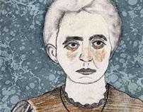 Marie et Irène Curie | portraits