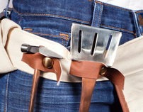 The Grill Master Tool Belt