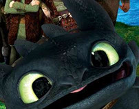 How To Train Your Dragon - Concept Teaser Poster