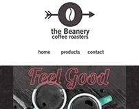 Beanery Website Design