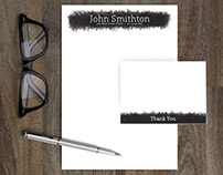 Personal Stationery, Freelance - Scribble