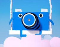 Pinhole - paper camera for Papercube.ru project