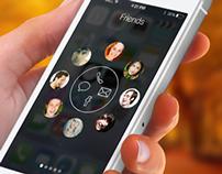 ContactDrop - iOS Concept