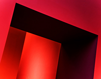 Red Wall Abstracts