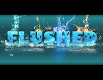 Poster design for Game Flushed
