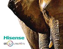 Hisense Ultra HD LED TV