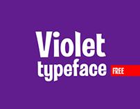 VIOLET free font