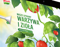 Knorr Sustainability - Microsite