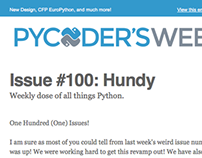 Pycoder's Weekly Logo