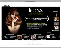 Sitio Web www.lorealprofessionel.com.mx