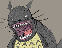 My Sadistic Neighbor Totoro