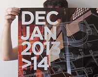 Bi-monthly posters with cultural program