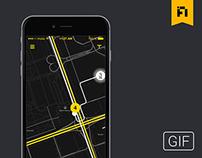 tram gps app #hackaton