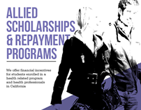 Scholarship Flyer Design