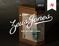 Zeus Jones Holiday Hat Project