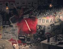 TBWA WallBomb Mural