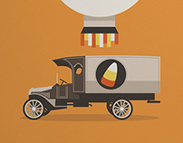 All candy corn ever made was made in 1911