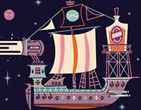 The S.S. Rum St-Argh-Ship