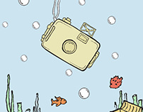 Ilustrações Toy Camera
