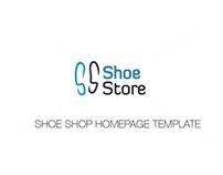 Shoe Shop Homepage Template