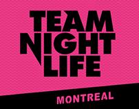 Team Night Life: Event planning