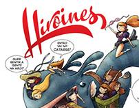HIROINES no Catarse!