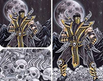 Commissioned Mortal Kombat Scorpion