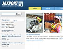 JAXPORT Web Pages and Eblast
