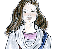 Fashion Illustrations: Lara Miller for TWW