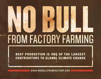 NO BULL FROM FACTORY FARMING