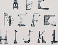 Cranes Alphabet