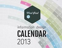 information design - calendar 2013