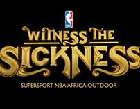 Supersport NBA Outdoor - 2D Typography