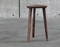 Triangle Stool