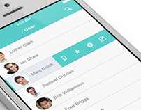 My time App ( Flat Mobile UI Kit) download available