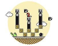 Super Mario Font 3