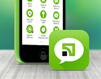 SMS Banking iPhone App
