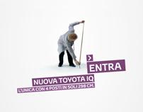 TOYOTA iQ - Pre-Launch Web Experience.