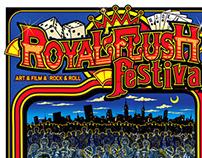 Royal Flush Festival Poster