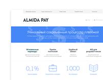 Almida pay, website