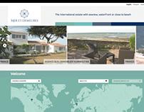 Mer et Demeures - website