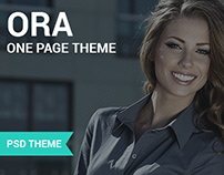 ORA - One Page Creative Agency Theme