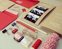 Wedding Card Craft + Red