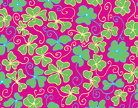 Irish Jig Repeat Pattern