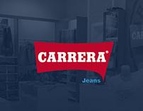 Carrera Jeans Landing Page