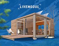 LIVEMODUL Landing Page