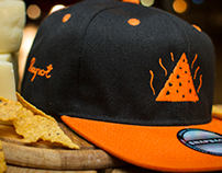Snapback design for Lapot brand